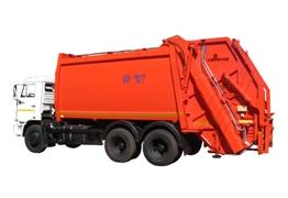 Rear loading garbage collectors